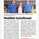 Mobilität#schaffen wir     -Schöner Beitrag danke an die WKO und Lavantaler Zeitung